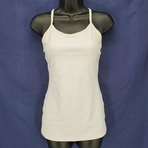 Lululemon Ivivva White Racerback Yoga Cami Size 14